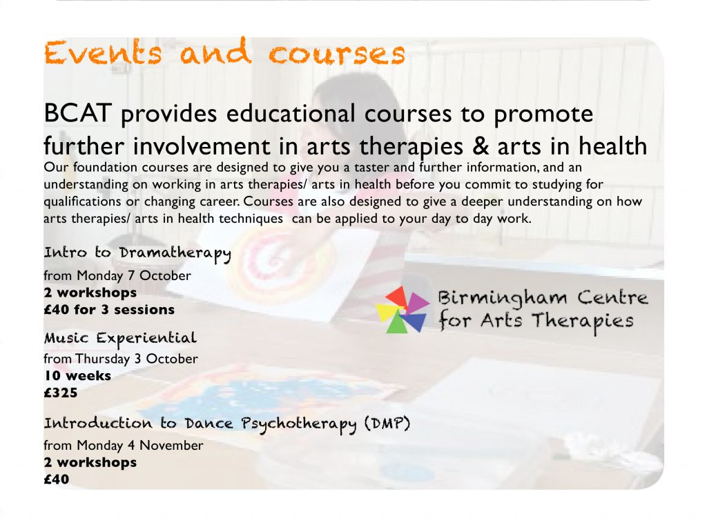 Birmingham Centre for Arts Therapies
