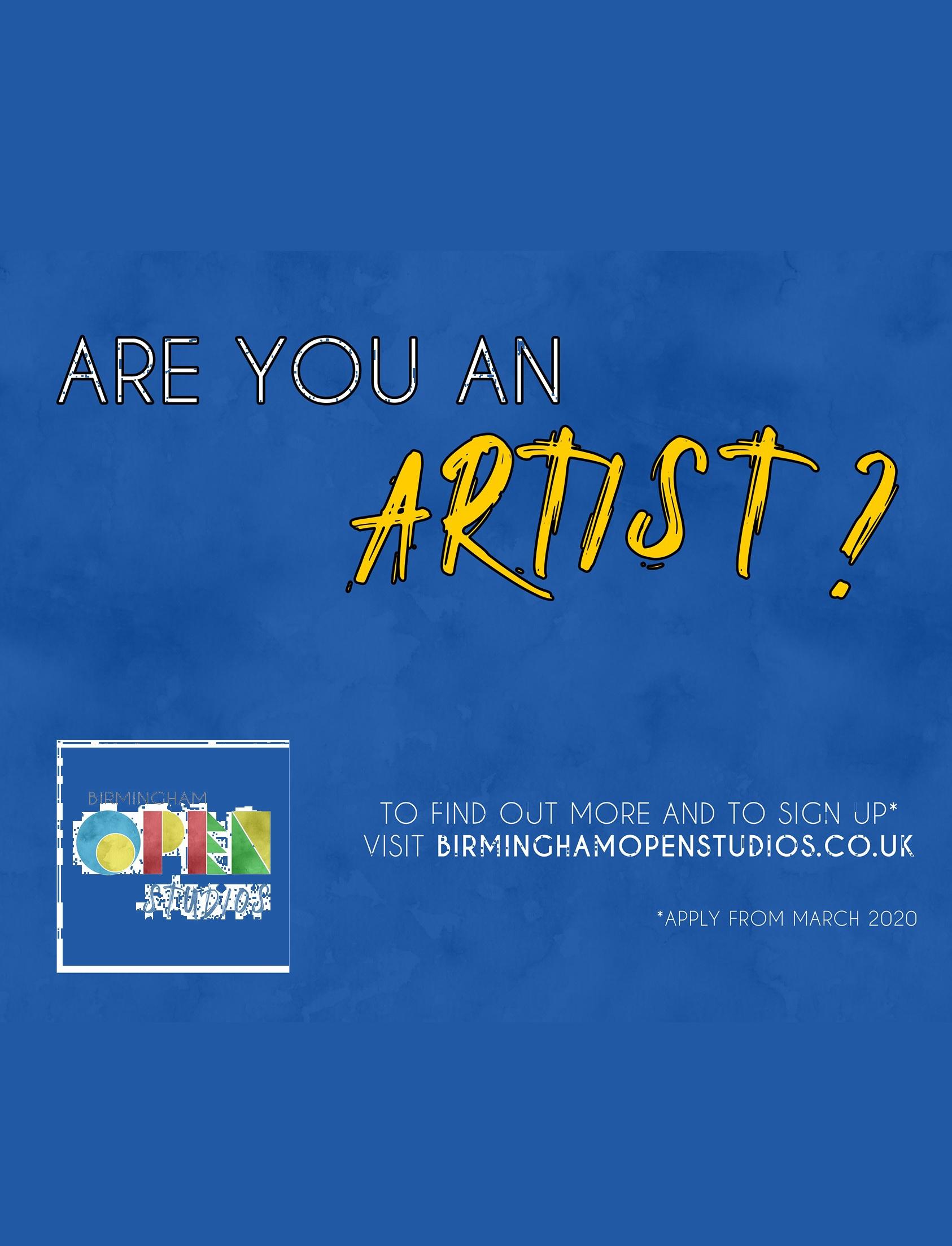 Birmingham Open Studios